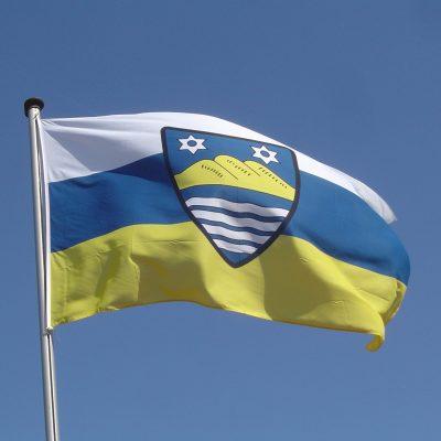 Die Flagge von Juist