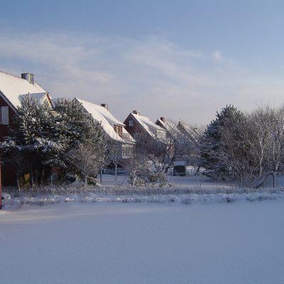 Winteridylle an der Hammerseestraße